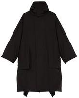 5 Moncler Craig Green - Hooded Cape Coat - Mens - Black