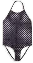 Ralph Lauren Toddler's & Little Girl's Dot Swimsuit