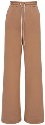 Max Mara 'S Wide Leg Cotton Sweatpants
