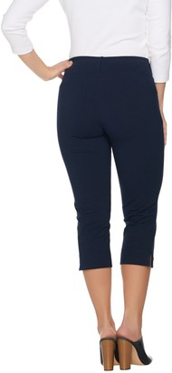 Women With Control Wicked by Petite Pull-on Capri Pants