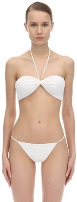 Halter Neck Lycra Bandeau Bikini Top