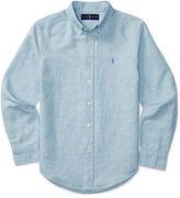 Ralph Lauren Linen-Cotton Chambray Shirt