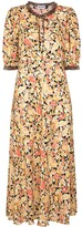Thumbnail for your product : Rixo Hanna floral print maxi dress