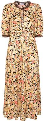 Rixo Hanna floral print maxi dress