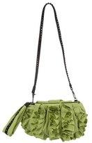 Diane von Furstenberg Belle Ruffle Evening Bag