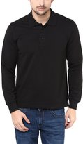American Crew Solid Polo Collar Full Sleeves T-Shirt - XL (AC129-XL)