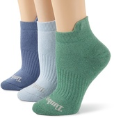 Timberland Women's Outdoor Adventure Colorful Low Rider 3 Pair Socks
