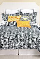 Trina Turk Zebra 3-Piece Duvet Set - Black/White
