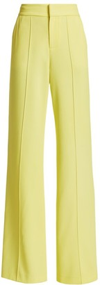 Alice + Olivia Dylan High-Rise Wide Leg Pants