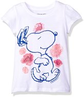 Freeze Kids girls Peanuts Snoopy Flower Dancing Toddler Girls T-Shirt
