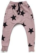 Nununu Star Baggy Sweatpants in Powder Pink