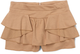 E-Land Kids Soft Sand Tier Skort - Toddler & Girls