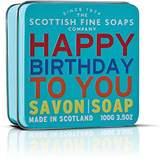 "Scottish Fine Soaps SOAP in a tin of Happy Birthday"" 100 g"