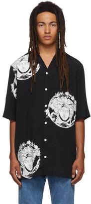 Versace Black All Over Medusa Shirt