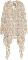 Maiyet Printed silk-georgette blouse