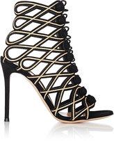 Gianvito Rossi Women's Vendome Sandals-BLACK