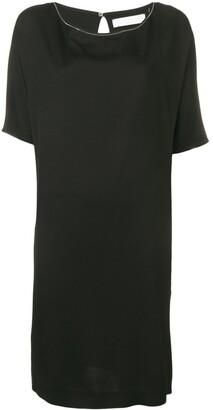Fabiana Filippi short-sleeved shift dress