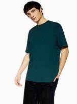 Topman Rich Teal Oversized T-Shirt
