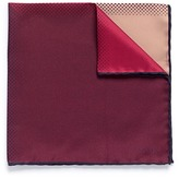 Lanvin Colourblock gradient dot print silk twill pocket square