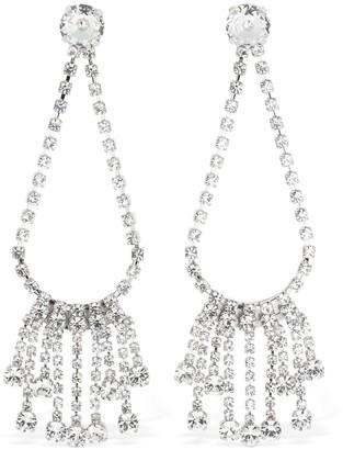 Ca&Lou Clara Drop Fringed Crystal Earrings