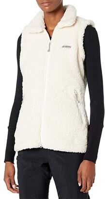Columbia Winter Pass Sherpa Vest (Chalk) Women's Clothing