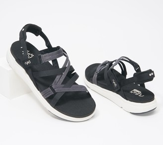 Ryka Adjustable Back-Strap Sport Sandals - Mirasa