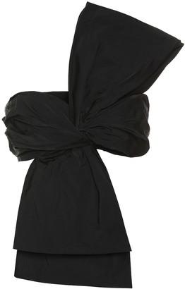 Dries Van Noten One-shoulder silk-blend bustier