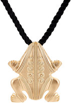 Kenneth Jay Lane WOMEN'S FROG PENDANT NECKLACE