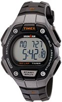 Timex Women's TW5K89200 Ironman Classic 30 Mid-Size Black/Silver-Tone Resin Strap Watch