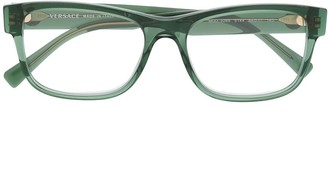 Versace Eyewear square shaped glasses