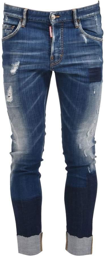 DSQUARED2 Whiskered Skater Jean