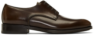 Salvatore Ferragamo Brown Daniel Derbys