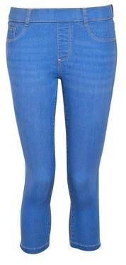Dorothy Perkins Womens Dp Petite Ocean Blue 'Eden' Denim Cropped Jeans, Ocean Blue