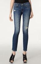 Distressed Skinny Leg Stretch Jeans