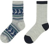 Uniqlo Boys Heattech Socks 2p