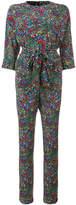Vanessa Seward printed long sleeve jumpsuit
