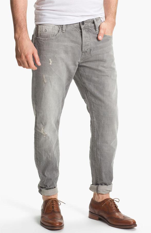 Scotch & Soda 'Ralston' Slim Straight Leg Jeans (Stoner)