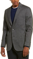 Michael Bastian Michael Bastion Slim-Fit Linen-Blend Jacket