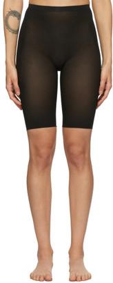 SKIMS Black Sheer Sculpt Shorts