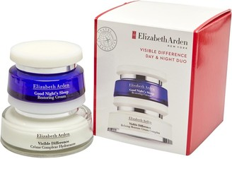 Elizabeth Arden Womens Visible Difference Day & Night Cream Duo Pack Multi