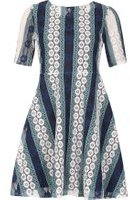 Dorothy Perkins Womens *Izabel London Multi Blue Dress- Blue
