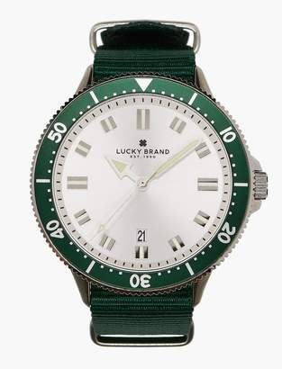 Lucky Brand Dillon Green Nato Watch