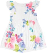 Joules Girls Floral Frill Woven Dress