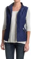 Caribbean Joe Quilted Vest - Fleece Lined (For Women)