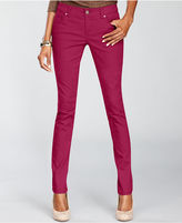 INC International Concepts Petite Jeans, Skinny Colored Denim
