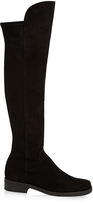 Max Mara Ortisei over-the-knee suede boots