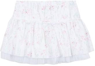 3 Pommes Baby Girl White Skirt