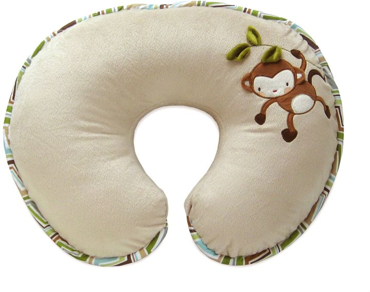 Boppy Luxe Pillow with Reversible Cover in Monkey