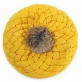 GOOTRADES Winter War Knitted Crochet Beanie Ball Hat Cap for Baby Children