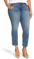 KUT from the Kloth Plus Size Women's 'Reese' Crop Flare Leg Jeans